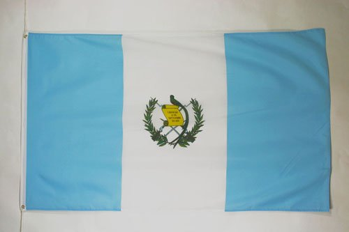 AZ FLAG Guatemala Flag 3' x 5' - Guatemalan Flags 90 x 150 cm - Banner 3x5 ft
