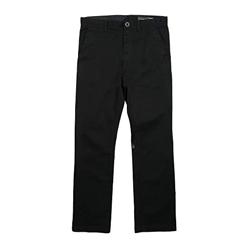 (Volcom Men's Frickin Regular Chino Pant, Black,)