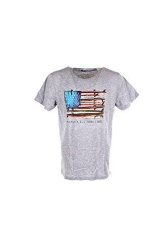 T-shirt Uomo Pickwick L Grigio Pbrianm338 Primavera Estate 2017
