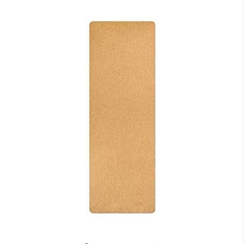YOOMAT 5mm Kork naturkautschuk high-end Yoga-Matte Rutschfeste saugen schweiß Yoga-Matte Gymnastik Tanz Fitness-Matte 183 cm  61 cm