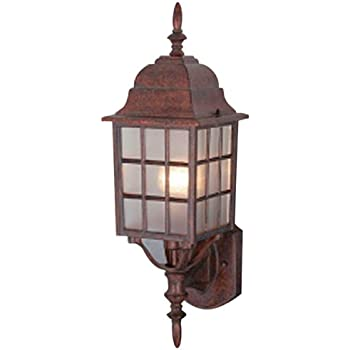 This Item Hardware House 461350 18 5/8 By 6 Inch Outdoor Lighting Fixture,  Cast Artesian Bronze