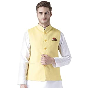 hangup Men's Viscose Sleeveless Waist Coat