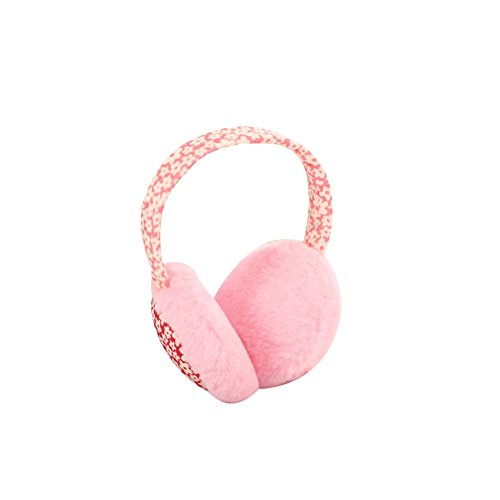 Surker New Cute Floral Plush Fashion Warm Covered Winter Essential Earmuffs