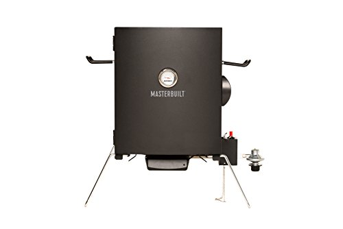Masterbuilt MB20050116 MPS 20B Patio-2-Portable Propane Smoker, ()