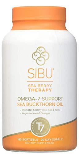 SIBU Omega-7 Support Sea Buckthorn Oil - 180 Count