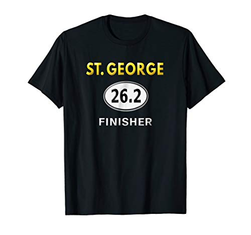 St. George 26.2 Marathon Shirt Race Finisher Runners Gifts