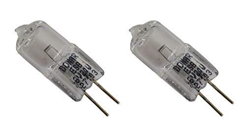 2pcs ESB FHN 6V 20W RSE43 Donar Bulb for American Optical Equipment Microscope 1120 - Orbitec 130204 H164250 - OSRAM 54019 54261 64250HLX - Philips 7388 64250 HLX - Swift Microscope MA780 8255084