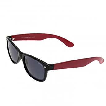 86d5d4e3a11 Arsenal Fc Sunglasses Kids Retro Wayfarer Style Red   Black  Amazon.co.uk   Clothing