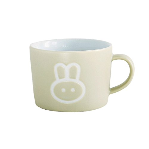 Time Concept Kids Petits Et Maman Ceramic Rabbit Mug - Eco-Friendly, Handcrafted Dinnerware