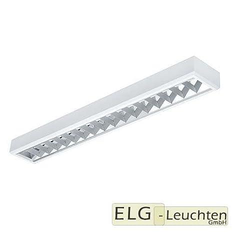 RA-136-A-E(inex)- cuadrícula lámpara, luminaria fluorescente ...