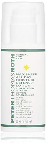 Peter Thomas Roth Max Sheer All Day Moisture Defense Lotion Spf 30, 1.7 Fl. Oz.