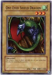 Yu-Gi-Oh! - One-Eyed Shield Dragon (LOB-087) - Legend of Blue Eyes White Dragon - Unlimited Edition - Common
