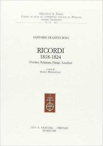 Ricordi, 1818-1824