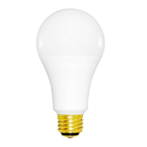 Bulb 60w Med (Euri Lighting EA21-1050et LED A21 3-Way Bulb, Everyday Line, Cool White 5000K, Non-Dim, 5W 9W 16W (40W 60W 100W Equivalent), 230 Degree Beam Angle, Med. Base (E26), UL & Energy Star Listed)