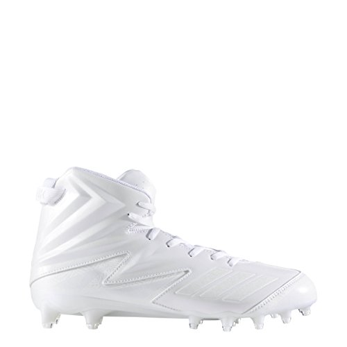 Adidas Maniaco X Carbonio Ad Alta Tacchetto Mens Calcio Bianco