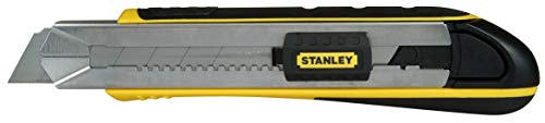 Stanley 10-486 FatMax Snap-Off Knife, 25mm - Snap Off Blade Utility Knife