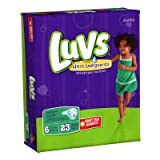 Health & Personal Care : Luvs Ultra Leakguards Diapers - Size 6 - 23 ct