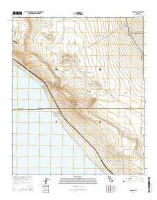 Durmid, California topo map by East View Geospatial, 1:24:000, 7.5 x 7.5  Minutes, US Topo, 22.8\