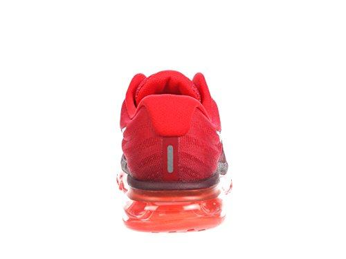 Scarpe Da Corsa Nike Mens Air Max 2017 (11.5, Marrone Notte / Bianco Palestra Rosso)
