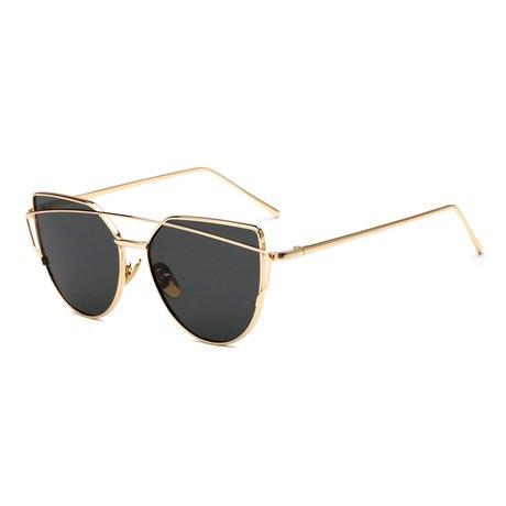 De KLXEB Retro Sunglases Hembra De 13 Ojo Gafas De Gafas Gato 5 Reflejado Sol Sobremedida Mujer rqw5wCI