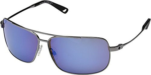 Spy Optic  Men's Leo Gunmetal/Happy Bronze/Blue Spectra - Spectra Sunglasses