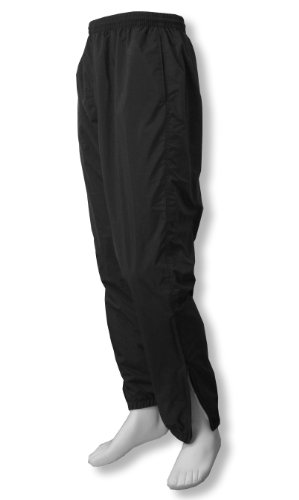 Basketball Warm Pants Up - Code Four Athletics 'Normandy' soccer warm-up pants - size Adult L - color Black