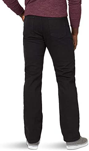 31vC2dsEM6L. AC Wrangler Authentics Men's Big & Tall Classic 5-Pocket Regular Fit Flex Jean    Wrangler men's classic regular rit jean. This jean is constructed with durable materials Built for long-lasting comfort. Made with a classic fit, this jean sits at the natural waist and features a regular set and thigh.