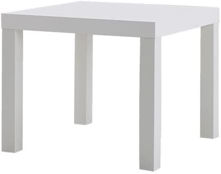 Ikea Lack Table Basse Table D Appoint Noir 55x45x55 Blanc Amazon