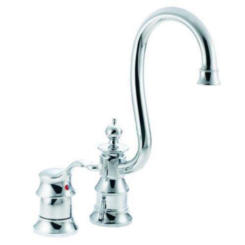 Moen S611 Waterhill One-Handle High Arc Bar Faucet, Chrome