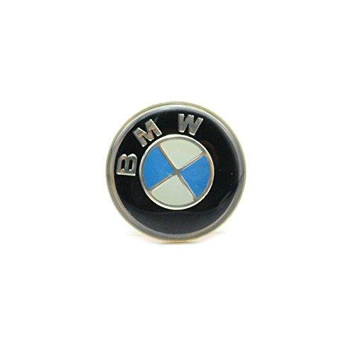 iNewcow BMW Car Multimedia Speaker Button Key 3M Sticker Auto Key Decals (Diameters 29MM)