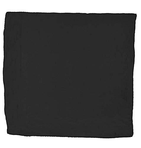 - Wyoming Traders Mens Solid Silk Wild Rag Scarf Black 34 inch