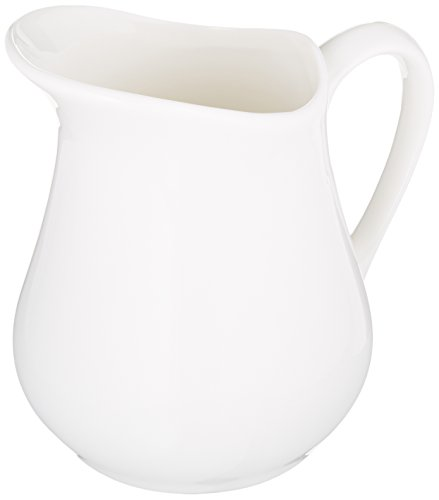 White Milk Jug - Maxwell and Williams Basics Milk Jug, White