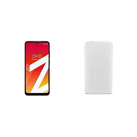 Lava Z2 Flame Red, 2GB RAM, 32GB Storage + Lava Power Bank P2