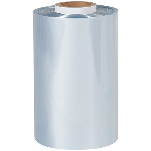 Aviditi SHT12100 Shrink Tubing Film Roll, 1500' Length x 12