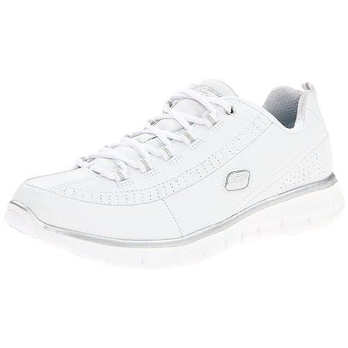 Skechers Sport Womens Synergy Elite Status Athletic Walking Sneaker10 M US