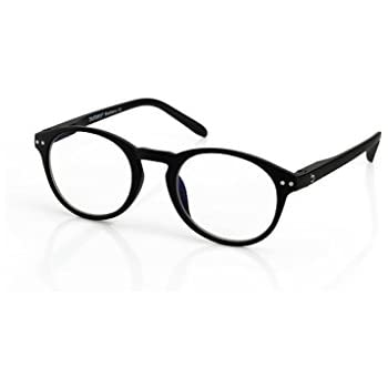 8a601271b0f9 Blueberry - Computer Reading Glasses - Size M - Black - Unisex - Blue Light  Blocking Eyeglasses - Digital Screen Glasses - (Blackberry