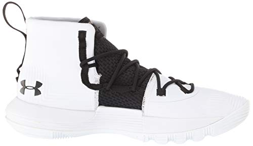 pour Armour Chaussures Fille spécial Under Bianco Basket Ball wXzqwZO