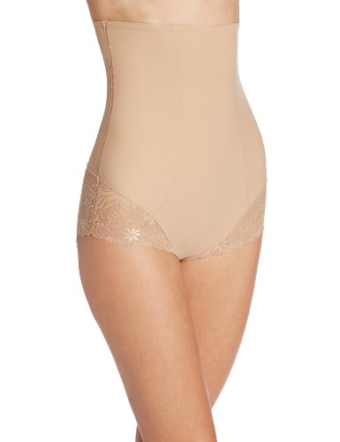 Simone Perele Women's Top Model Body Shaper High Waist Brief, Nude, Size 4-Large