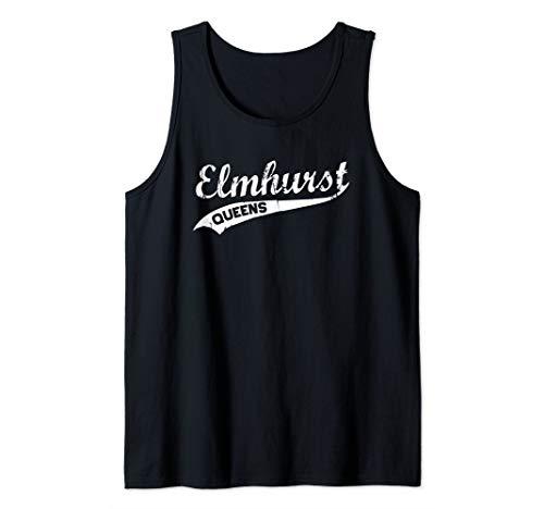 Elmhurst Queens Vintage NYC Retro Shirt Tank Top -