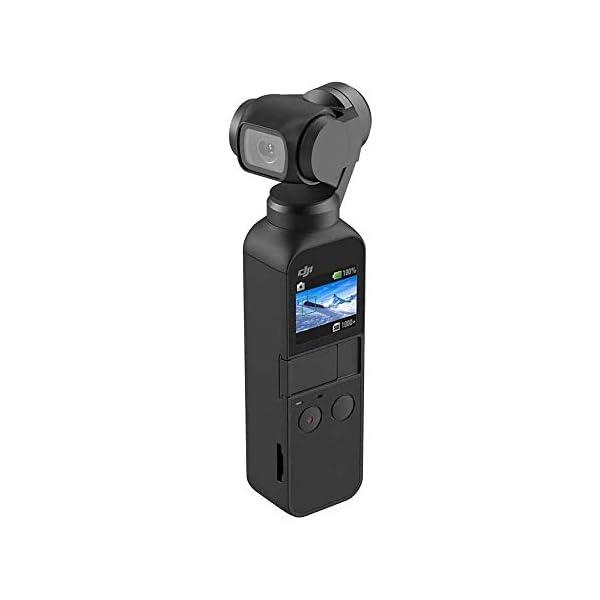 """DJI Osmo Pocket Prime Combo - Fotocamera Stabilizzata a Tre Assi con Kit Accessori e Care Refresh, Camera Integrata 12 MP 1/2.3"""" CMOS, Video in 4K, Collegabile a Smartphone, Android, iPhone - Black 2 spesavip"""