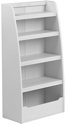 Ameriwood Home Hazel Kids' 4 Shelf Bookcase, White by Ameriwood Home (Image #9)