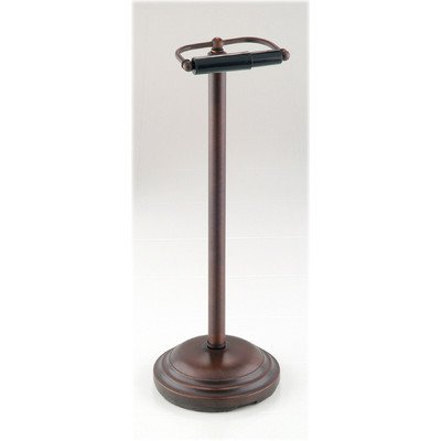 Pedestal Toilet Paper Stand - Taymor 02-D8588ORB Oil Rubbed Bronze Pedestal Toilet Tissue Holder