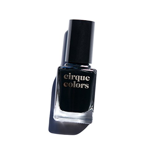 Cirque Colors Creme Nail Polish - Memento Mori - Best Black - 0.37 fl. oz. (11 ml) - Vegan, Cruelty-Free, Non-Toxic Formula (Best High End Nail Polish)