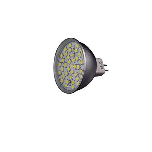 CristalRecord Bombilla LED G5.3, 7 W, Blanco, 4.5 x 5 x 4.5 cm: Amazon.es: Iluminación