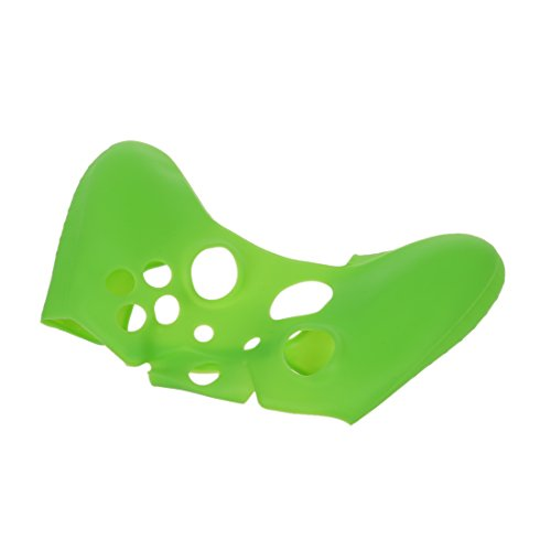 SODIAL(R) Soft Silicone Gel Protective Skin Cover Case for XBOX ONE Controller Green by SODIAL(R) (Image #1)