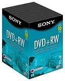 Sony DVD+RW 4.7GB 4X 120min 10-Pack