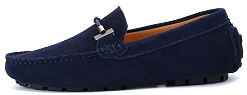 Oscuro Zapatos 38 3 JOOMRA para Hombre Azul 49 Mocasines R4qqU6w7