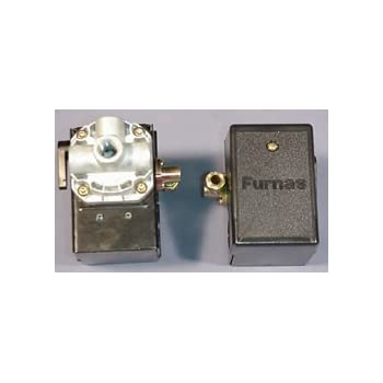 Hubbell 69JF9LY 140-175 single port w// unloader /& on//off lever Pressure switch for air compressor made by Furnas