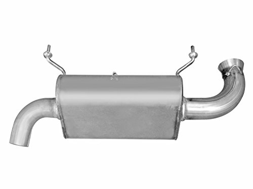Gibson 98018 Stainless Steel Exhaust System for (1 Gibson Exhaust Tip)