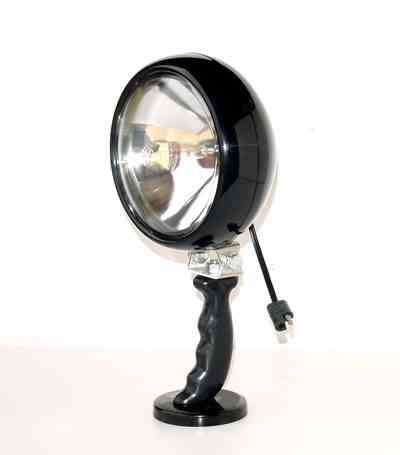 MUL-3 Magnetic Utility Light (MUL) Magnetic Mount - Super Spotlight - 6.5 Million Candlepower(-10'-Coil Cord)